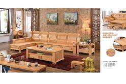 Bộ salon gỗ CH - SH A15#